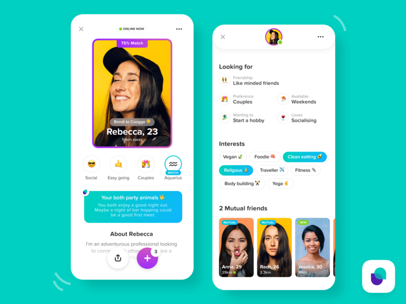 Friends - iOS Profile profile design profile card user interface uidesign ui application social app social friendly app ui mobile ui mobile design ios ios app ios app design app design icon ui web ios guide mobile mobile app app design app