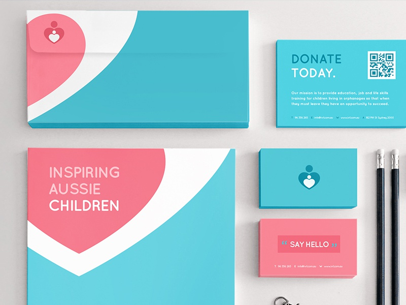 Ivf Stationery by Andrew McKay - Dribbble