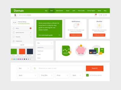 Domain's UI Toolkit - Web