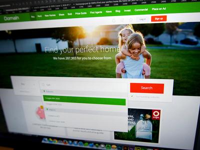 Domain - Homepage Launch