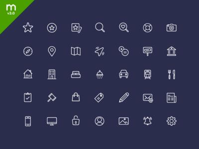 Domain - Icon set 2015