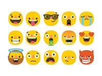 Emoji set large emoji set
