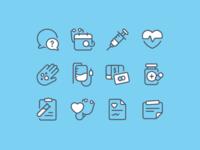 Medical - Icon set