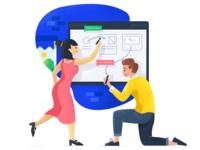Team Collaboration - Illustration