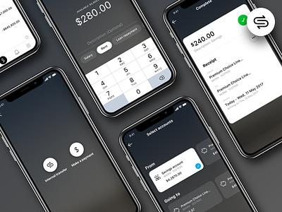 Payment flow enhancements macquarie bank mobile ios app transfer money bank ux flow payment