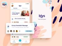 Blys - App homescreen interface