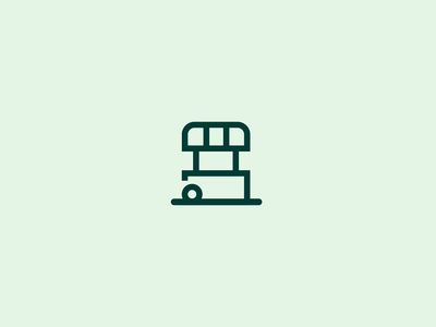 Prospa - Logo animation loan bank banking upgrade building stall shop icon illustration gif animated ano loop intro prospa brand animation logo gif