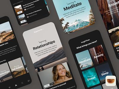 Beginner Kits - App Design app designers australia app designer application app course insight meditation meditation app insight timer mobile design app design ios app design ios app ios