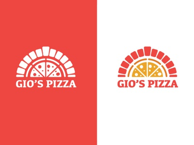Logo for Pizzeria icon delicious food italian logo pizza
