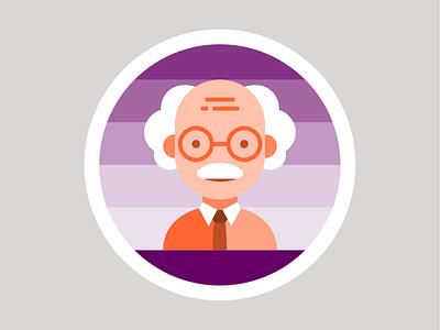 Characters Design flat web ui icon badge design vector illustration art direction design