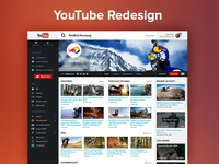 YouTube Redesign (Profil page)