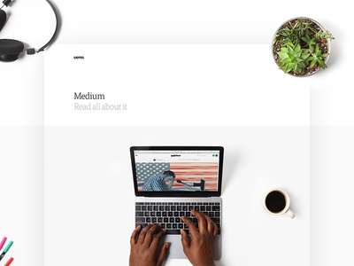 Case Study – Medium Marketing ueno objects photography marketing design website case study medium