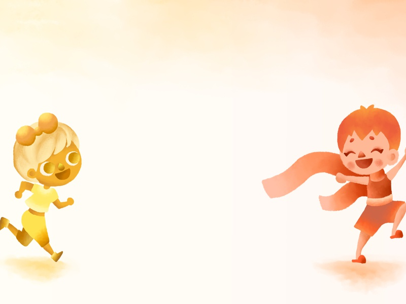 Yellow/Orange orange yellow cute queer character design character storybook colorful children photoshop illustration drawing concept art