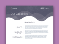 Chesamel – Capability Page
