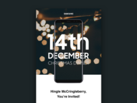 Samsung – Christmas Email Invite