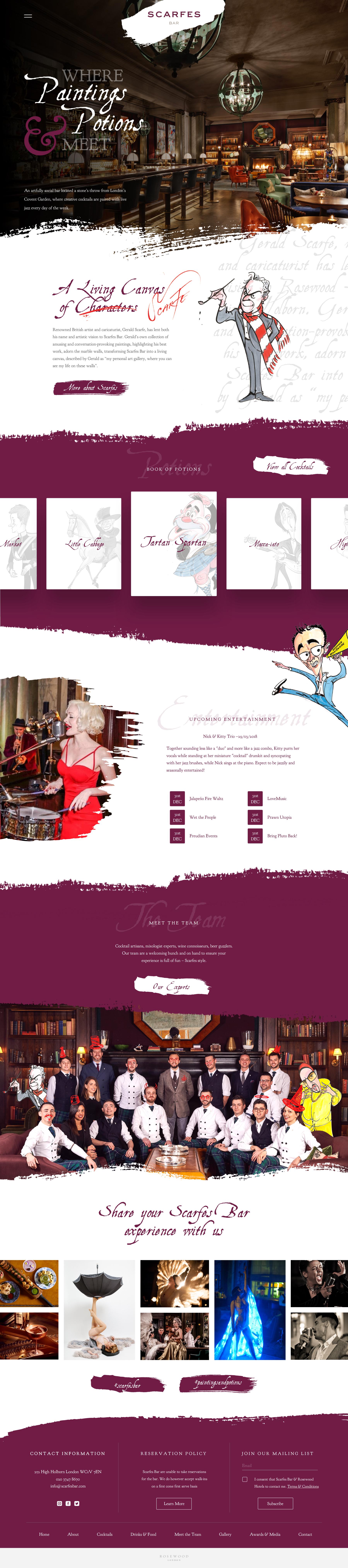 Sb homepage