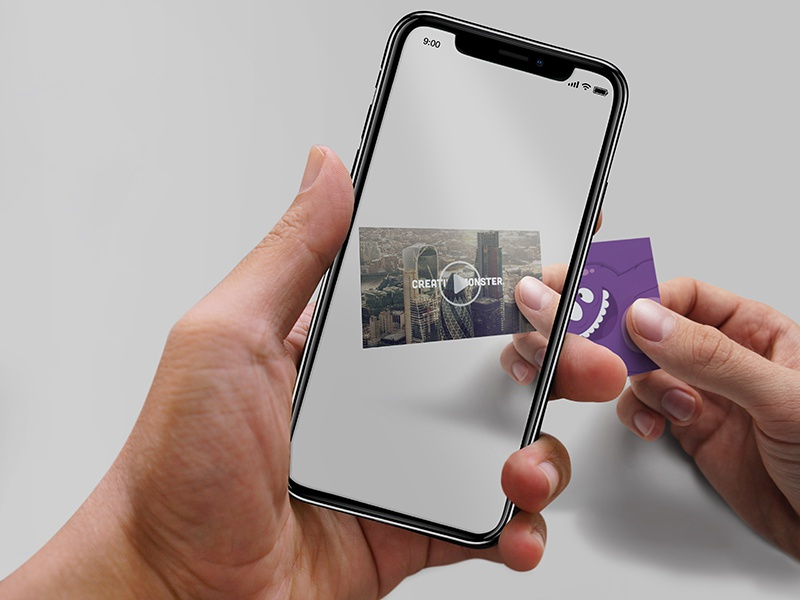 Ar Business Card Dribbble by Creative Monster - Dribbble