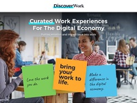 Discover work landing page final