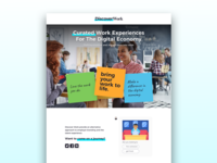 DiscoverWork Holding Page