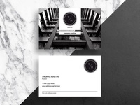 A solid business card of a realtor