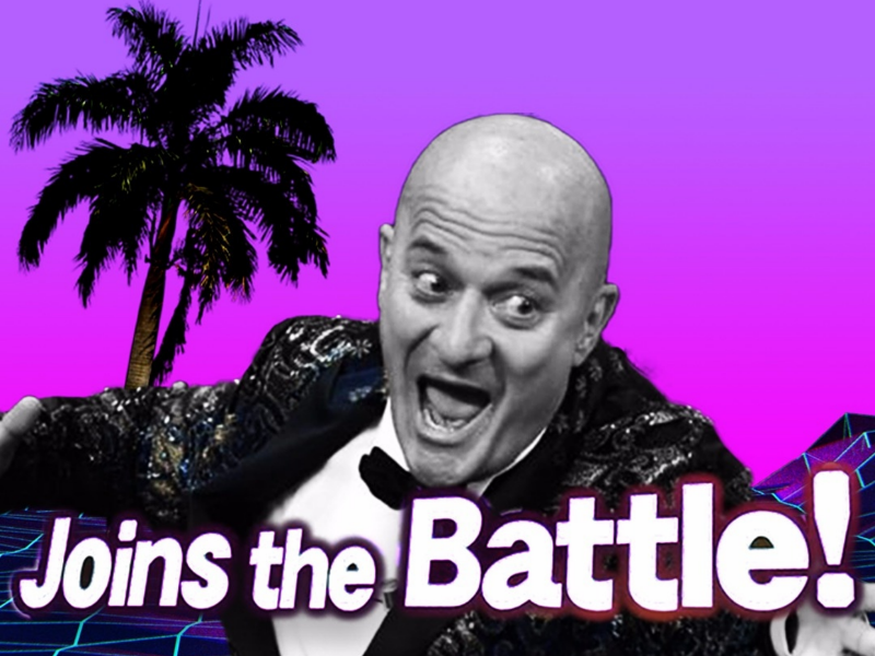 Joins the Battle! mr-touch-this sanremo claudiobisio 2020đrəam supersmashbros aesthetic trashitaliano photoshop adobe vaporwave