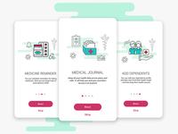Medical app - Onboarding