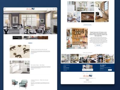 Shelter Magazine Website Redesign