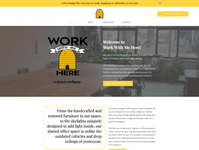 Shared Workspace Website Design