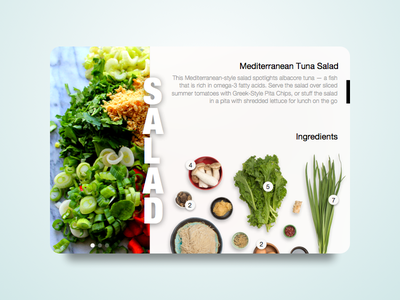 Salad sketch restaurant salad clean recipe food app card web design ui widget