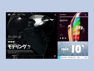 Dshbrd layout interface web visual ux ui dashboard
