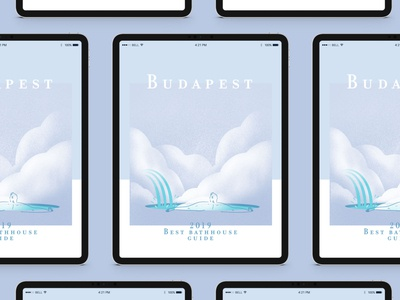 Budapest 2019 Best bath house guide — Illustrations