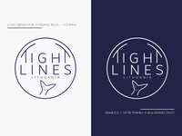 Logo Design for Tight Lines Lithuania