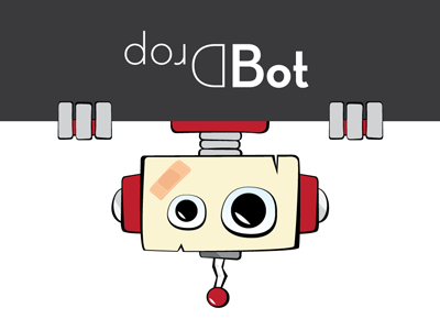 Dropbot robot dropbear