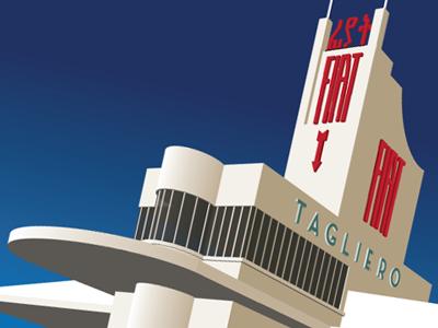 Tagilero Building building architecture brutalist modernist futurist futurism modernism illustration