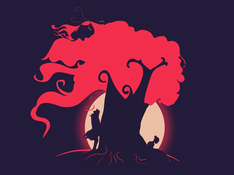Jane Eyre couple tree night moon dark love cover novel eyre jane