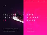 NikeLab Sock Dart Fleece - Microsite Concept 006