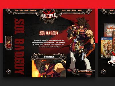 Guilty Gear Xrd -Sign- website 003