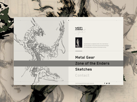 Yoji Shinkawa - website menu
