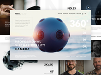 Nokia OZO - website