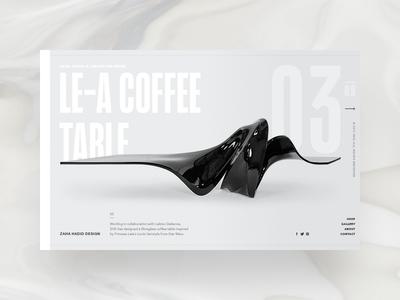 Zaha Hadid Design - product page