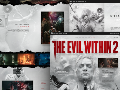 The Evil Within 2 - teaser hellowiktor web game survival horror the evil within 2