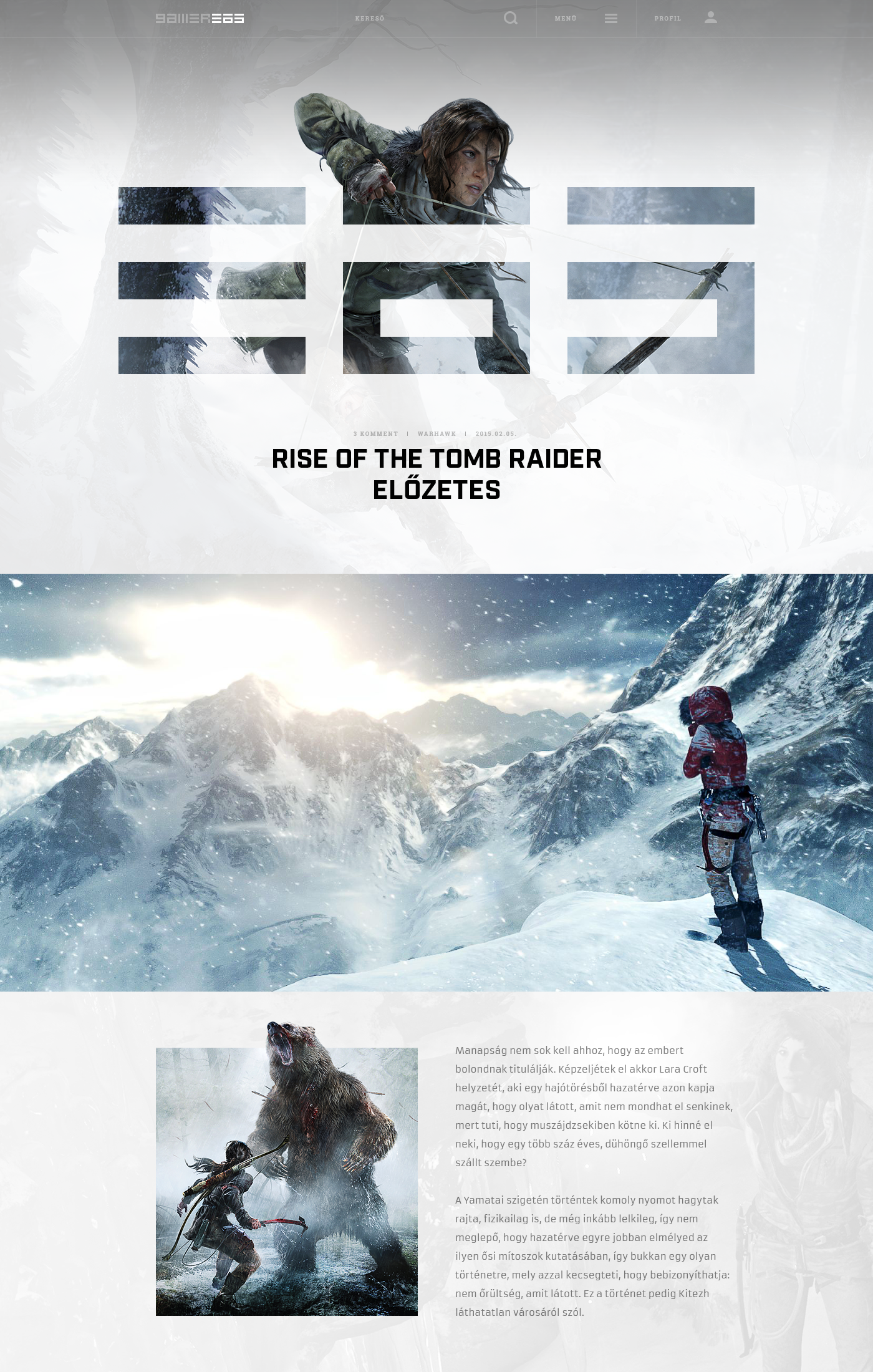 Gamer365 rise layout rise of the tomb raider hellowiktor