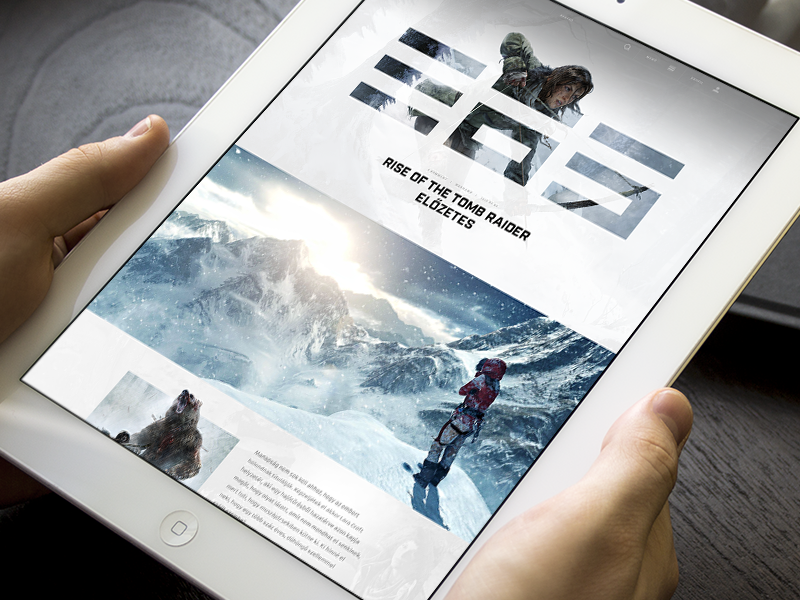 Gamer365 rise layout rise of the tomb raider teaser hellowiktor