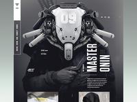 AKIRA - website ( 2099 ) Homepage