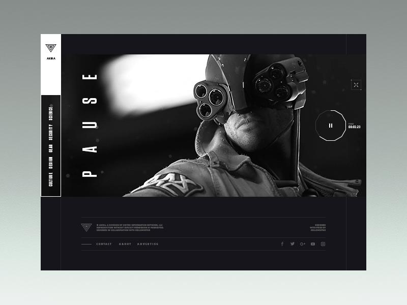 Akira website 2099 video page hellowiktor