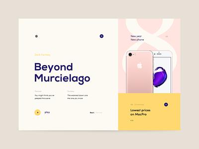 Windrose design app branding icon interface startup fashion shop ux ui website web