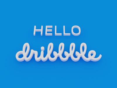 G'day dribbble!