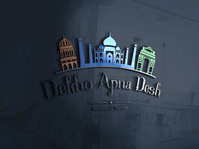 Dekho Apna Desh | Logo Competition branding design flat design minimal flat logo mark logo competition logo company logo logo animation logo designer logo company logotype logos logodesign logo design logo