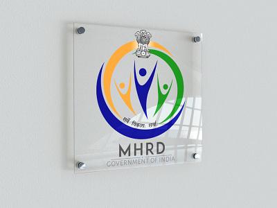 MHRD | Logo Competition color competition logo compeitition logo company logo designer graphics gradient graphicdesign graphic design graphic logos logodesign logotype logo design logo