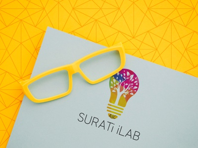 Surati iLab | Logo Competition competition logo a day logo company logo company logo logo animation logo mark logo designer logo competition landing page lettering logos logodesign logotype logo design logo vector ui flat design minimal flat